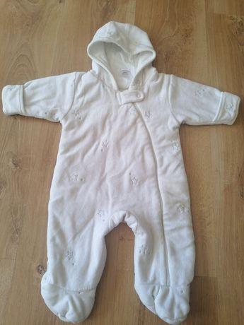 Pajacyk zimowy niemowlęcy 0-3 miesiące