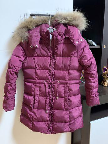 Пальто зимнее SNOWIMAGE  девочке
