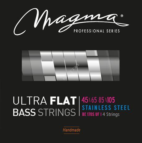 Magma-struny gitara basowa- (45-105)- ultra flat - 4 struny