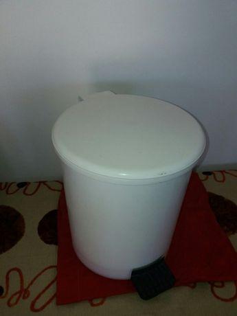 Balde lixo casa banho branco