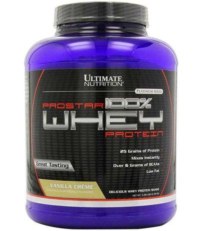 Протеин Ultimate Nutrition Prostar Whey Protein 2270 гр и др