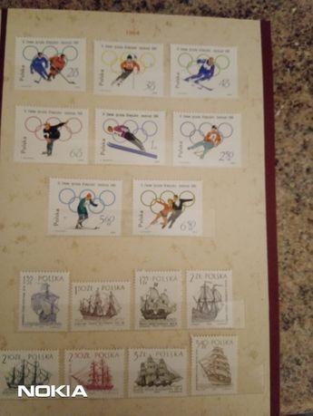 znaczki pocztowe sprzedam czyste tom VI