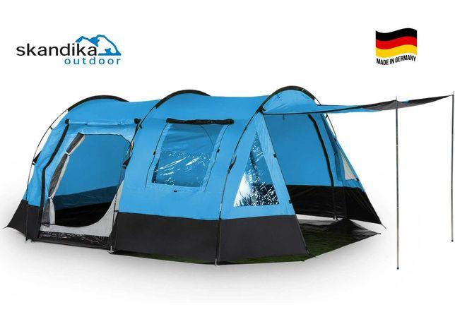 SKANDIKA KAMBO 4 Палатка 4+4 местная 3000мм Германия