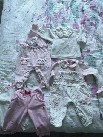 Paczka ubrań 56-62 dla dziewczynki