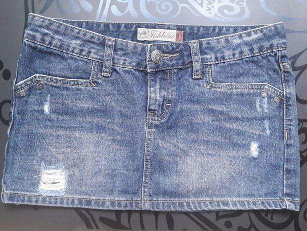 Spódniczka jeansowa Fishbone