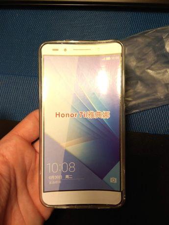 Pokrowiec silikonowy Huawei Honor 7i, ShotX