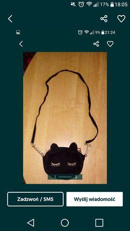 Torebka torebeczka kotek