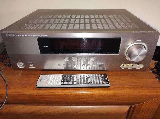 amplituner Yamaha RX-V 465 oraz odtwarzacz CD/dvd Yamaha S665.