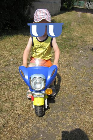 Motor akumulatorowy pojazd dla dziecka