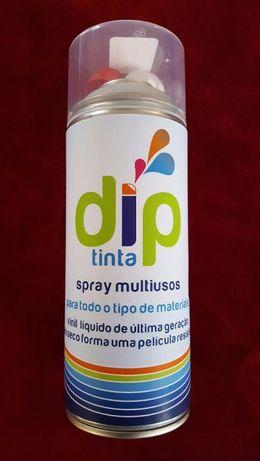 Tinta Dip, tinta borracha beje removivel para diversas aplicações