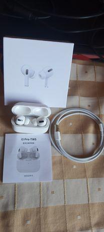 Słuchawki bezprzewodowe i3 PRO-TWS apple