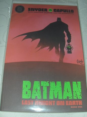 BATMAN: LAST KNIGHT ON EARTH #1 -oryginalny komiks z USA!!!