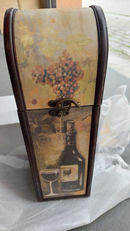 Skrzynka opakowanie na wino alkohol