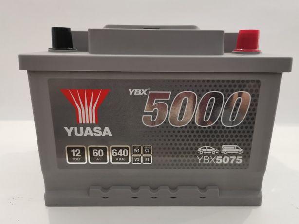 Akumulator YUASA YBX5075 60Ah 640A Promocja!!!