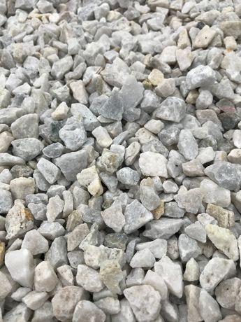 Kamień ozdobny / grys ogrodowy BIANCO / kamień ozdobny / dostawa/HIT