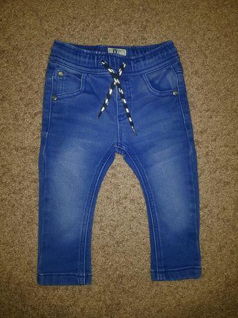 NEXT rewelacyjne jeansowe spodnie rurki piękny kolor 74