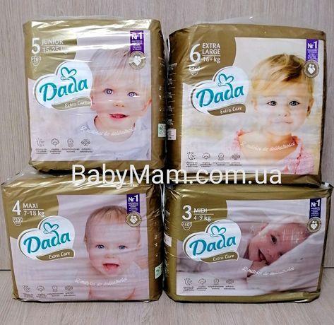 АКЦИЯ на Новые подгузники Dada Extra Care Premium Дада Премиум Памперс