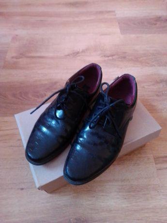 Buty lakierki czarne