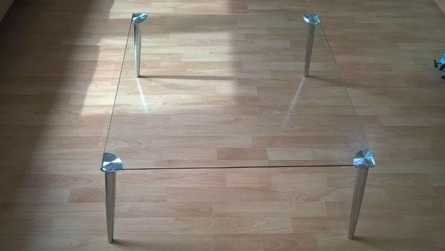 Stół stolik kawowy szklany szkło polecam!