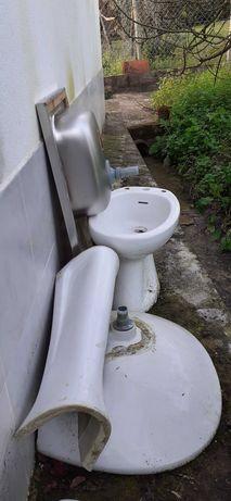 Sanitários wc e lava-louça