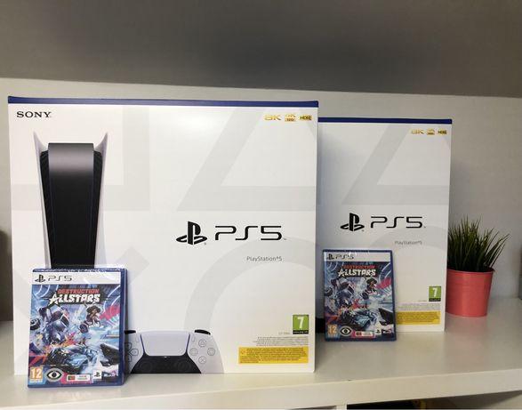 PlayStation 5 PS5 Standard + jogo + comando extra ||Novas||Seladas||