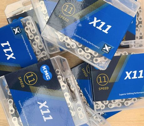 Новые велосипедные цепи KMC X11 11 ск