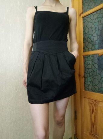 Котоновая юбка (хороша для школы)