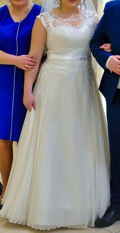 Suknia ślubna Venus, rozm. 42, welon, ozdoba do włosów gratis