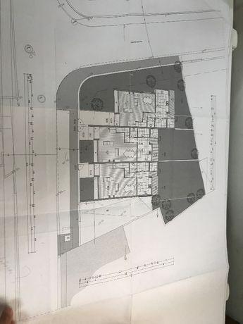 Terreno com projeto aprovado 3 moradias