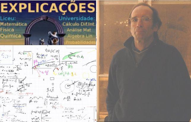 Matemática; Física-Química-5º a 12º ano-Universidade.Presencial-online