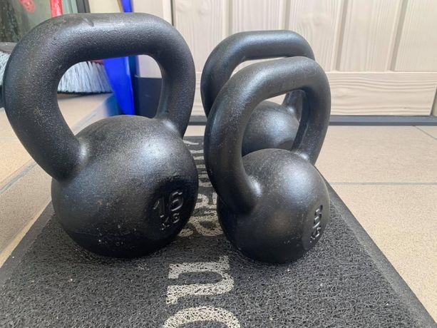 Kettlebell żeliwny 8, 12, 16 kg KAWMET