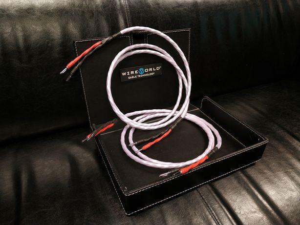 WireWorld Solstice 8 konfekcja kable głośnikowe Trans Audio Hi-Fi