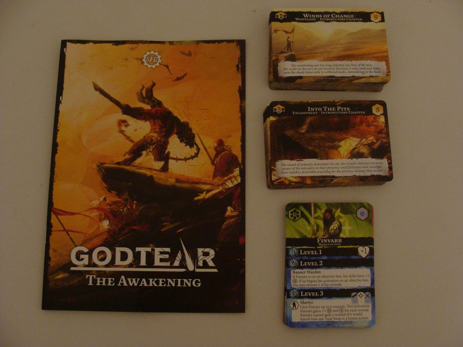 Godtear The Awakening Campaign Expansion