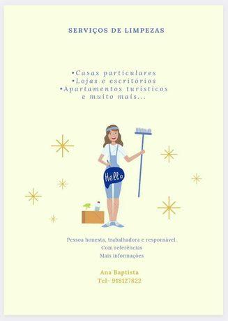 Faço limpezas Algarve