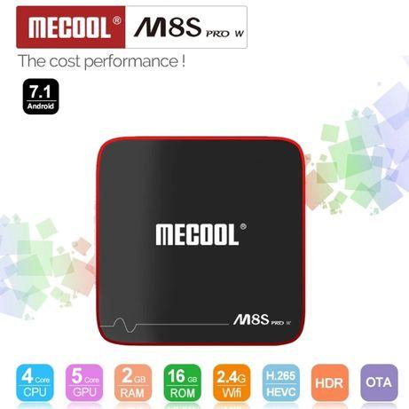 NOVA Smart TV Box 4K - 2GB RAM + 16GB ROM   Mecool M8S PRO W ANDROID