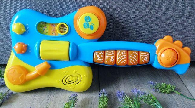 Гитара игрушка музыкальная интерактивная