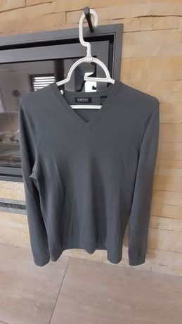 Dkny cidnki wełniany sweter