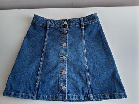Spódnica jeansowa marki H&M