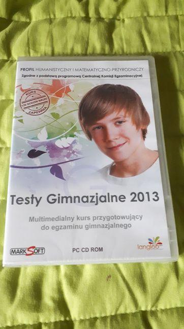 NOWA płyta CD !!!Testy Gimnazjaln 2013r prof. Human i Matem-Przyro