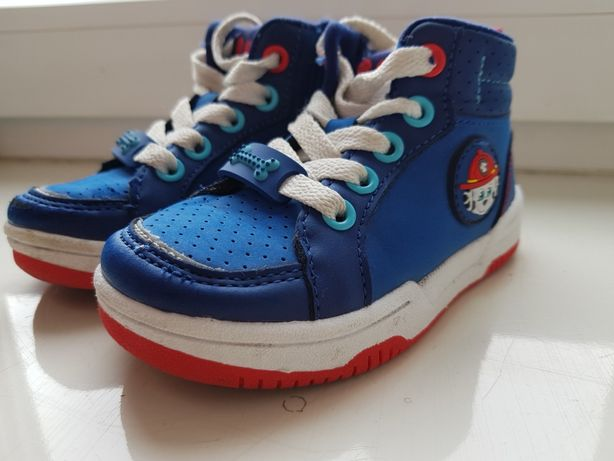 Adidasy buty buciki dziecięce 23 Psi Patrol skórzana wkładka jak nowe!