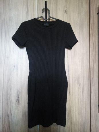 czarna sukienka topshop 36 sexy tuba