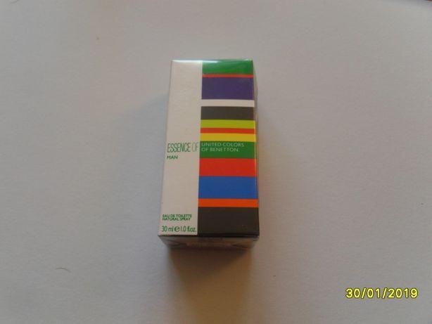 Perfumy U.C. of BENETTON - Essence of man 30 ml.