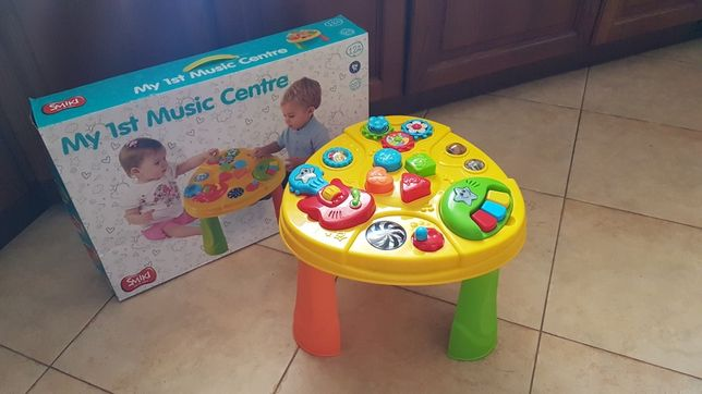 Smiki muzyczny stolik edukacyjny