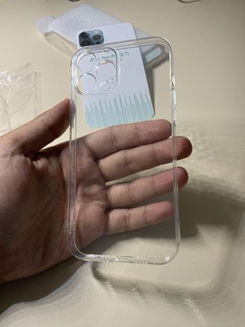 Прозрачный чехол silicone case iPhone 12 Pro Max  и другие модели