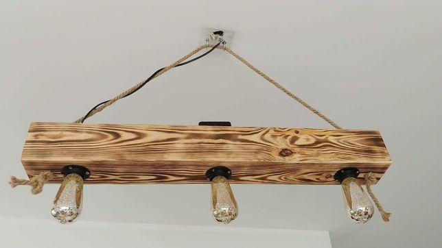 Lampa loft sufitowa