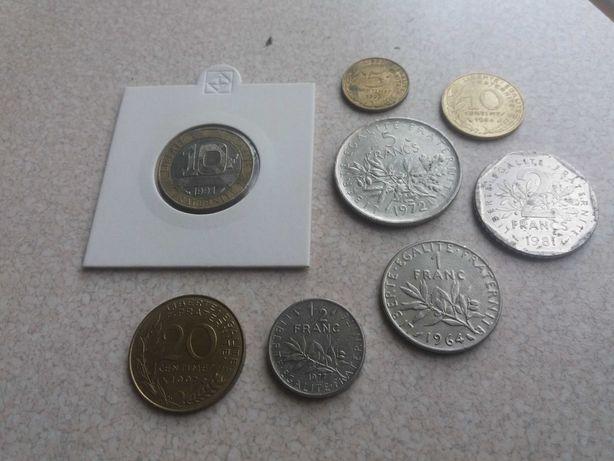 monety Francja sprzedam