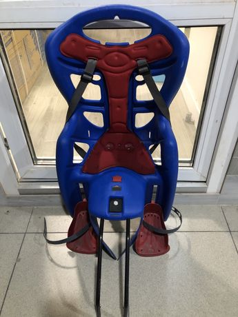 Велокрісло Bellelli Pepe Сlamp- дитяче крісло для велосипеда