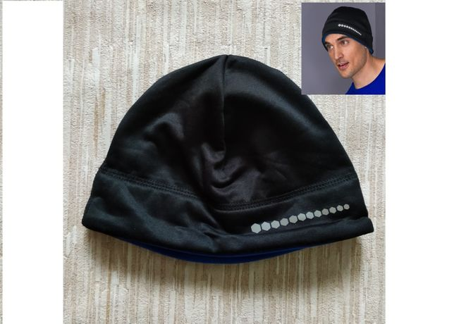 Спортивная термо шапочка Tchibo на толстом флисе. Подшлемник шапка