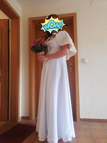 Suknia ślubna (idelana do cywilnego)