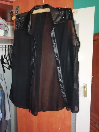 Koszula czarna zwiewna S